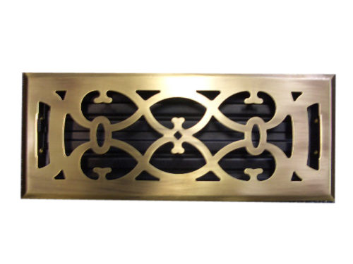 Metal & Wood Floor Vents