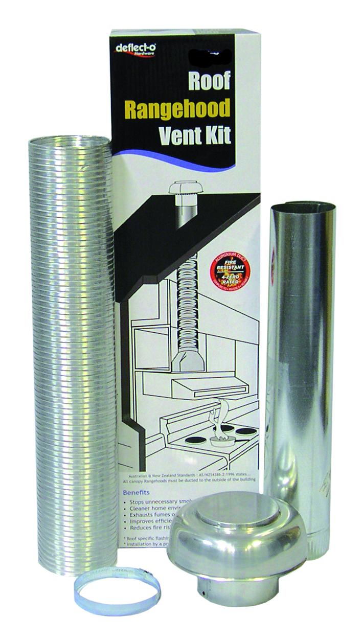 Rangehood Semi Rigid Roof Venting Kit 150mm Jpm