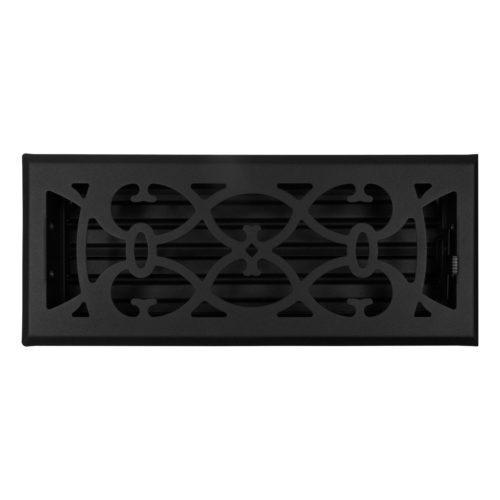 MVICBLACK ducted heating floor vent